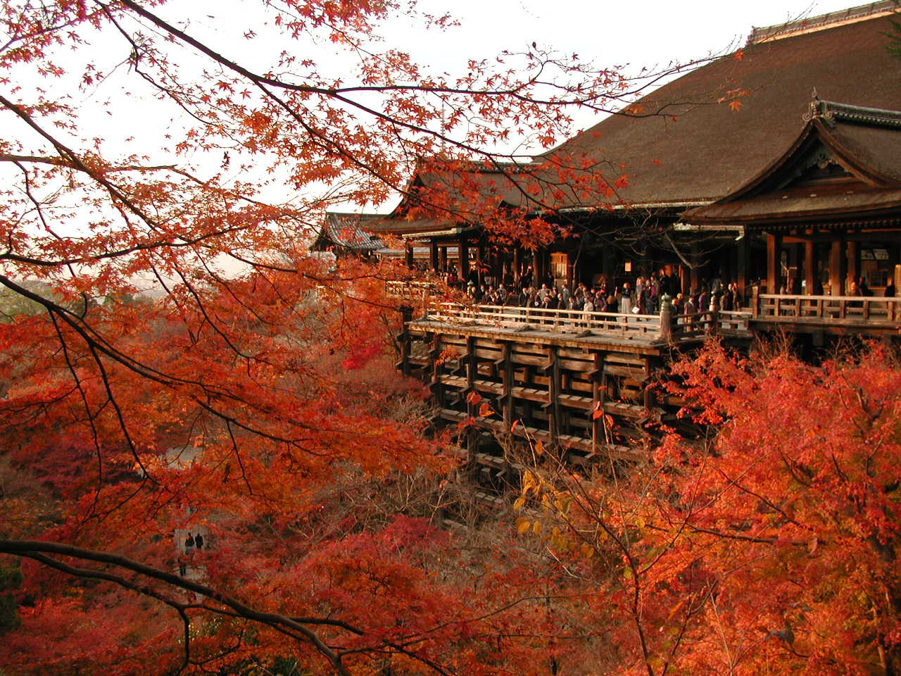 this is Kiyomizu temple