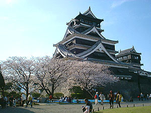 this is also castle of Kumamoto