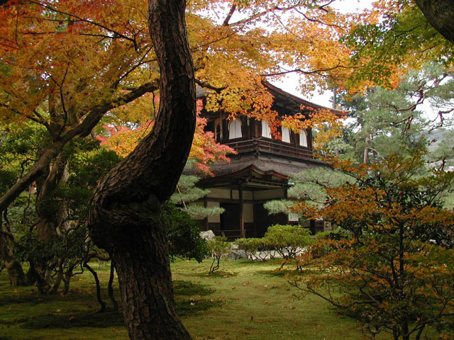 this is Ginkaku temple